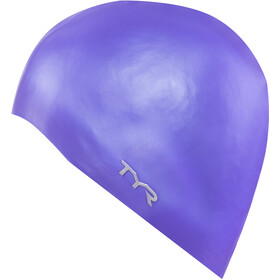 TYR Silicone Cap No Wrinkle, purple